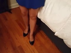 FOOT FETISH & Caressing the foot of the Girl