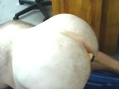 Chubby Bear Dildo Ass Fuck 2