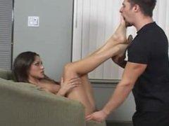 Jenaveve Jolie Hardcore Foot Sex