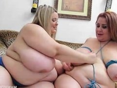 Mandy Majestic And Lady Lynn Tie Up Their Tits