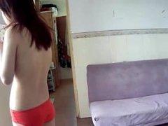 Voyeur Farts 01: Chinese Woman Morning Fart