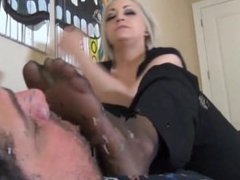 Britteni Banks Nylon Foot Smother