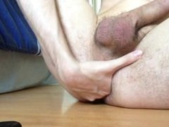 Virgin butt plug and anal fisting