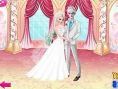 Elsa and Jack Wedding Night - Elsa Kissing Jack Frost - Disney Frozen Game