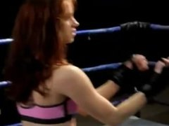 "Femdom fight scene from ""Circle of Fury"