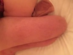 Horny MILF takes a cock up her ass
