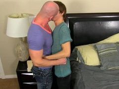 Kyler gets ass banged against the wall by stunning hunk Mitch