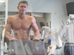 Muscular Lad Workout Photo Shoot (Preview)