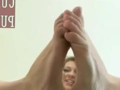 Feet on Glass