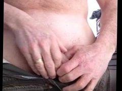 Big Curved Cock Daddy Cums