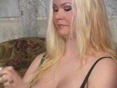 Girl Eating Turkey and Burping