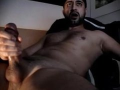 Thick Cock Stroke and Cum