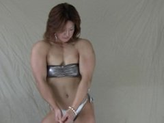 Asian Muscle Fbb Indoor Posing 09