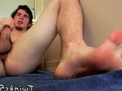 Gay twink male foot movies first time Although he's straight, Hunter