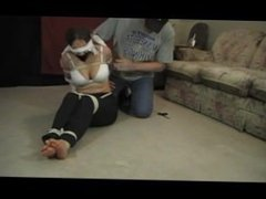Blair Blouson Tied Up and Gagged