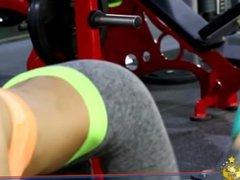 4 Korean fitness bodybuilding girls