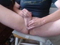 Futa poking hermaphrodite shemale puss futanari masterbating