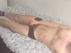 Young Skinny Boytoy Bored Home Alone
