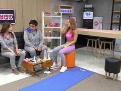 Korean Fitness Girl Shim E. on tv program 05