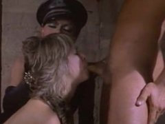 Classic Fetish Threesome In Chains