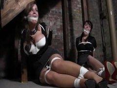 Women in warehouse