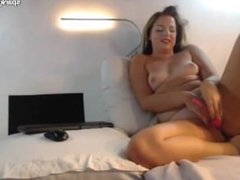 Couple having anal on cam