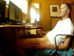 jerkoff on cam 4443