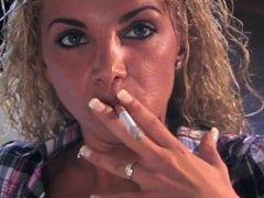 Vanessa Smoking heavy