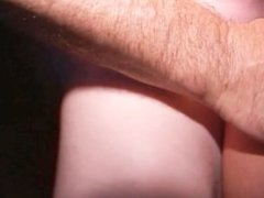 Young BBW gobbles phat MILF cunt Drags Redhead to orgy room for fuck-facial