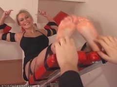 czech ticklish girl blonde