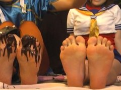 Feet Fighter: The Girls vs Chocolate