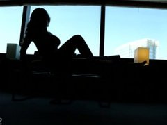Beautiful Girl Teasing in Vegas