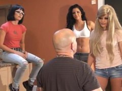 Christina Kourtney and Remi Faceslapping Trample