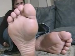 Sexy Toes In Your Face
