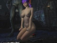 3D Monsters From Hell Destroy Babes!