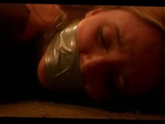 Mary Gets Hogtied Gagged
