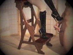 Birching the slave