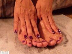 high arched feet footjob