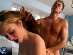 Cutie Yvonne with freshest goodies fucking Rocco Siffredi