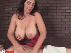 Busty Ana Gives A Hot Massage