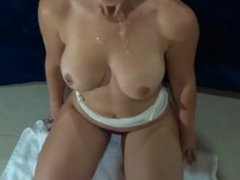 Sloppy Seconds Blowjob - Visit my profile for more videos!