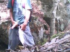 Forest edging jerk off session #19