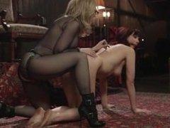 Nina Hartley Dominates Maitresse madeline punishing fuck full  restive