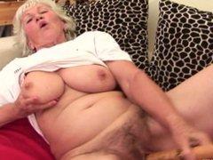 Granny Norma masturbating 3