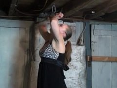 Handcuffed in the Basement