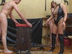 Mistress dominates Couple