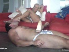 dannii harwood foot slave