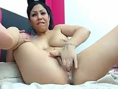 Girl squirts standing up