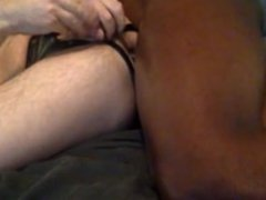 taking raw black cock up my white ass