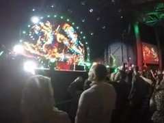 Concert front row blowjob